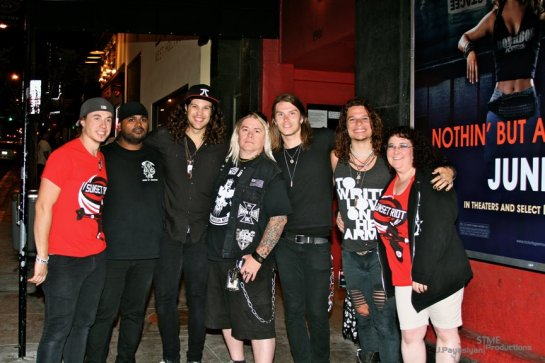 the Hellion, Dani, and the GREAT Sunset Riot in CA.