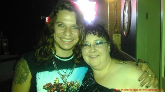 Dani and Del, new found friends. in NM.