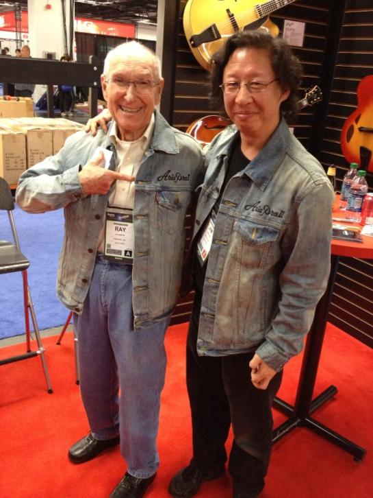 Ray Burton and James Chen - photo courtesy of James Chen