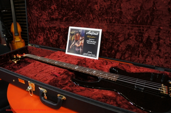 Cliff Burton Signature Bass by Aria
