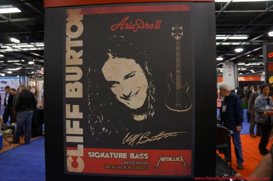 Cliff Burton Bass poster