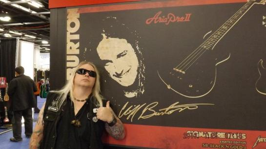 at the Aria Booth - NAMM 2013