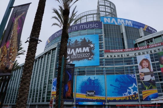 outside of NAMM 2013
