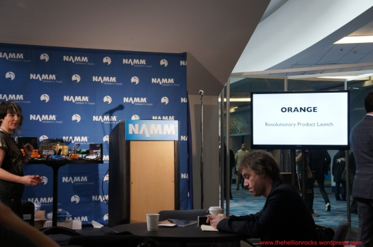Orange Amp press conference