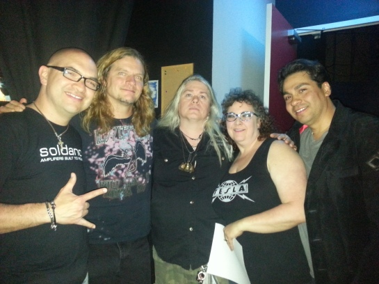 Mike Araiza, Frank Hannon, the Hellion, Mrs. Hellion, and Jeff Sandoval