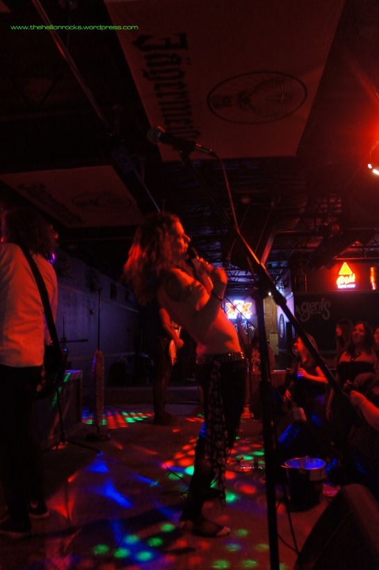 Dellacoma - front man extraordinaire