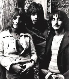From left: Louis Dambra, Gary Justin, and John Garner, c. 1971