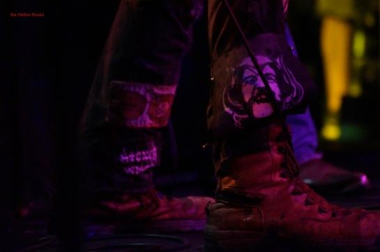 Hank 3's boots