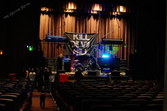 El Morro theater preshow!