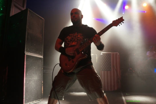 Marc Rizzo on guitars