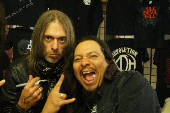 Rex Brown and Dion Tejada