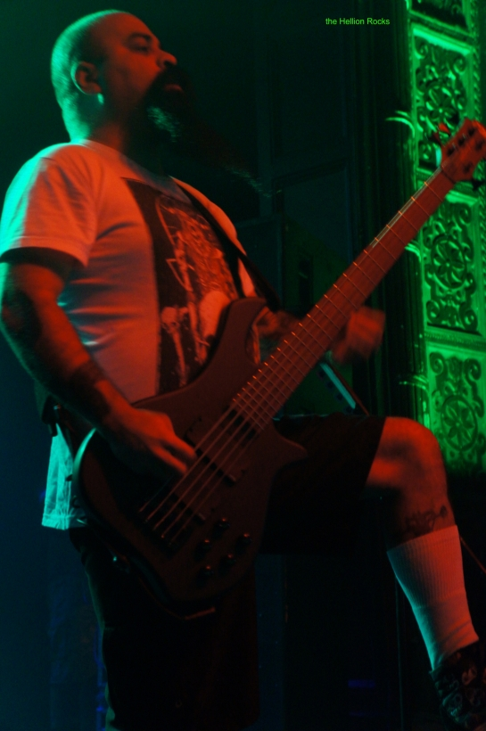 Tony Campos on bass