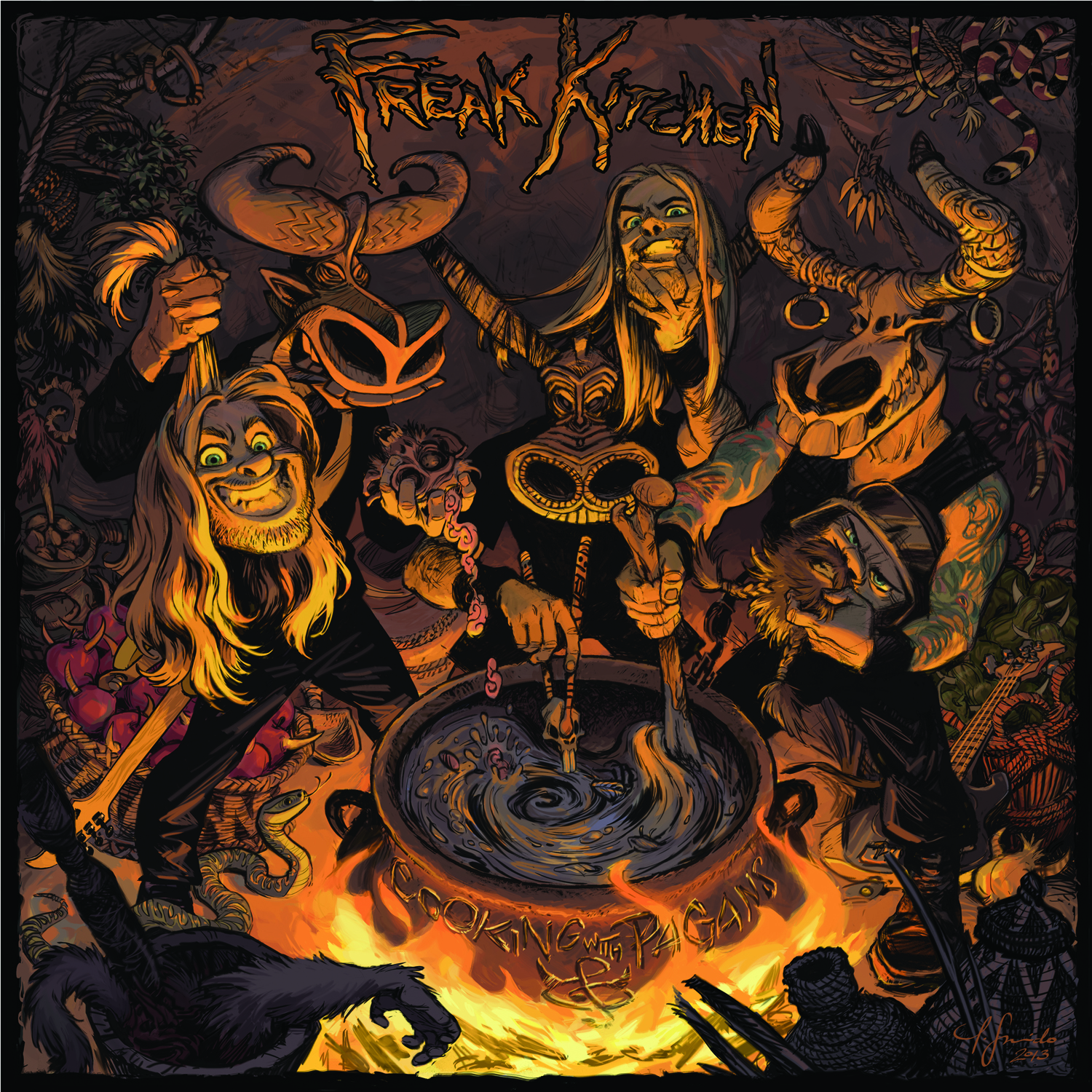 Freak Kitchen New Album